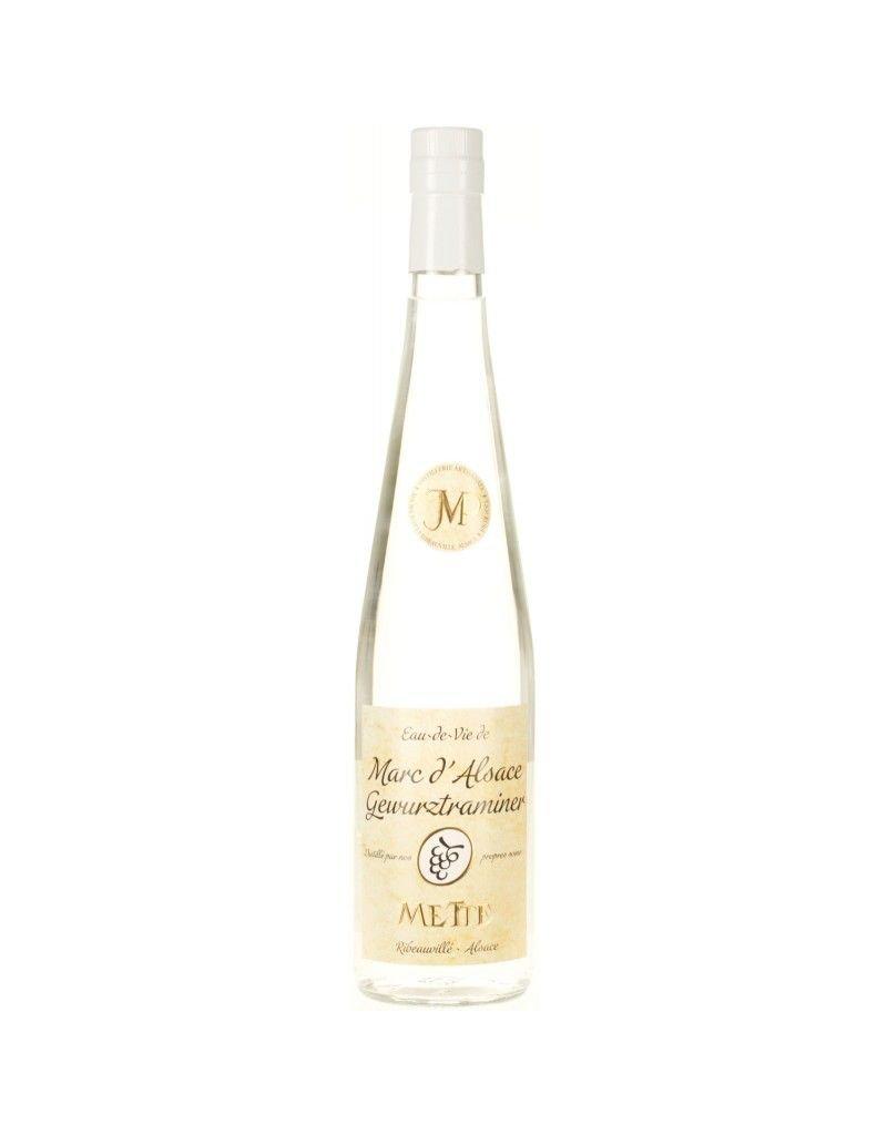 Brandy Jean-Paul Metté Marc d'Alsace Gewuztraminer Brandy 750ml