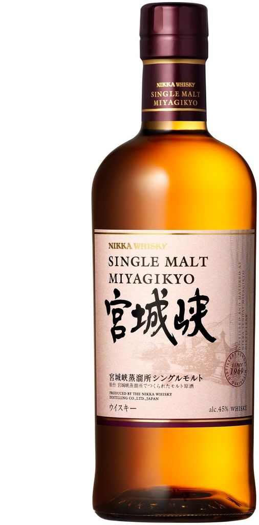 Asian Whiskey Nikka Miyagikyo Single Malt Whisky 750ml