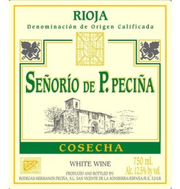 Spanish Wine Senioro de P. Pecina Rioja Blanco 2014 750ml