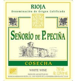 Spanish Wine Senioro de P. Pecina Rioja Blanco 2014 750ml