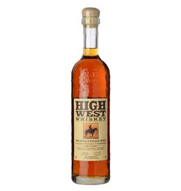 Rye Whiskey High West Rendezvous Rye 750ml