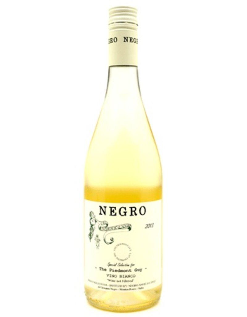 """Italian Wine Dominico Negro Vino Bianco """"Unfiltered"""" Arneis 2016 750ml"""