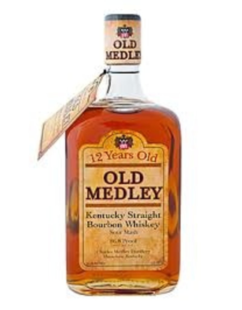 Bourbon Charles Medley Old Medley 12 year Bourbon 750ml