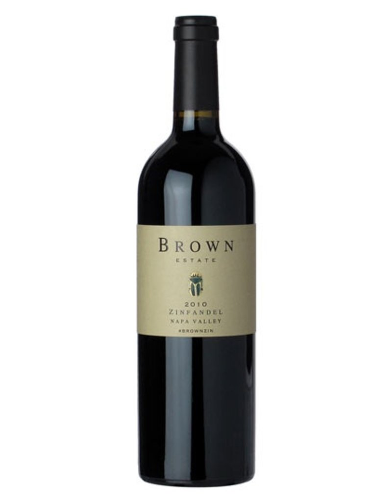 American Wine Brown Estate Zinfandel Napa Valley 2014 750ml