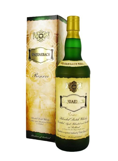 Scotch Usquaebach Reserve Blended Scotch 750ml
