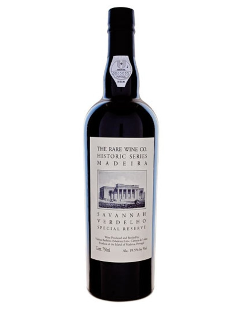 Dessert Wine The Rare Wine Company Historic Series Madeira Savannah Verdelho Special Reserve 750ml