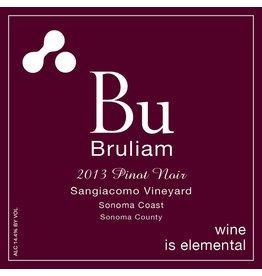 American Wine Bruliam Bu Pinot Noir Sangiacomo Vineyard Sonoma Coast 2013 750ml
