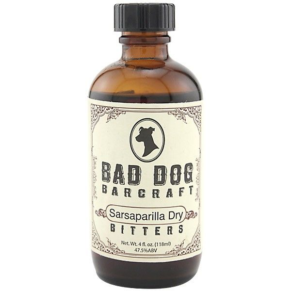 Bitter Bad Dog Sasparilla Dry Bitters 4oz