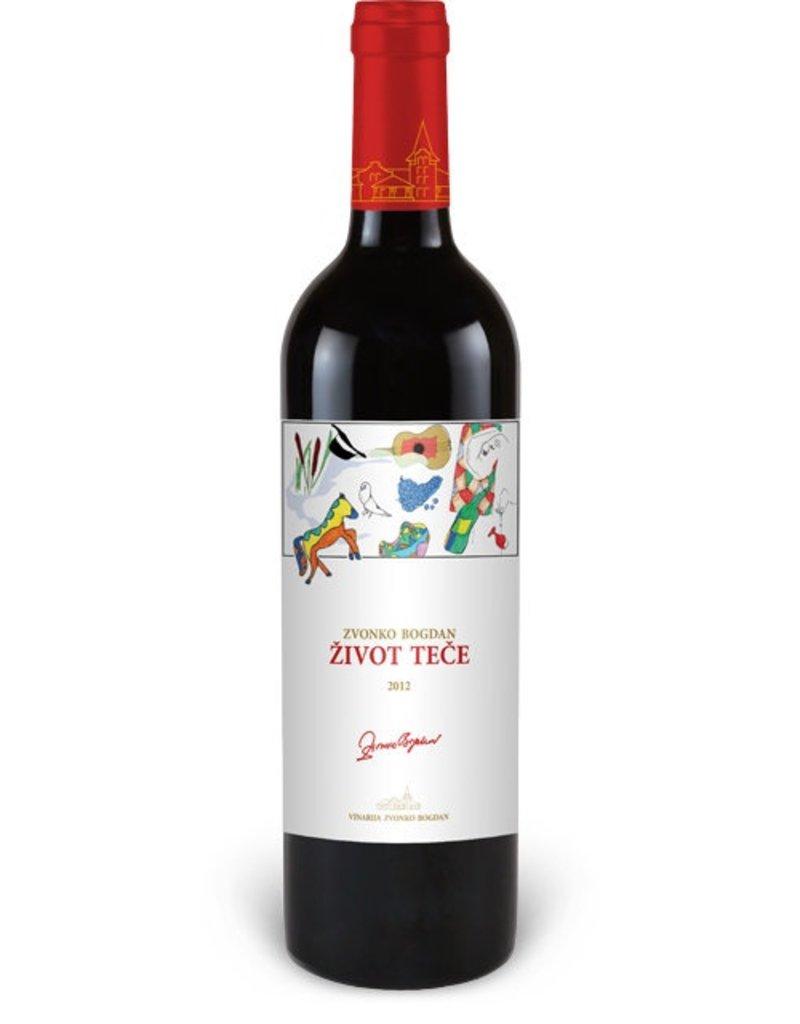 Eastern Euro Wine Zvonko Bogdan Life Flows 2015 750ml