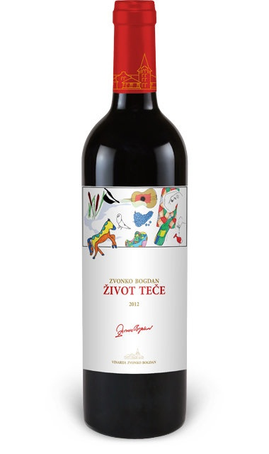 Eastern Euro Wine Zvonko Bogdan Life Flows 2015 750ml