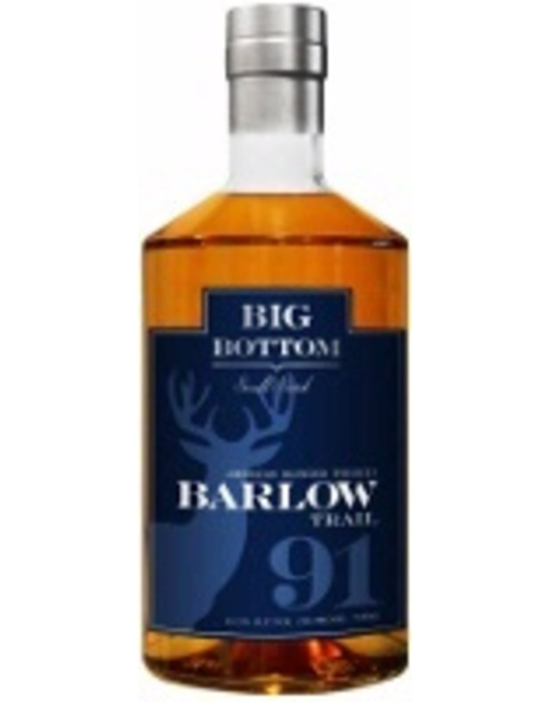 Whiskey Big Bottom Barlow Trail American Blended Whiskey 750ml