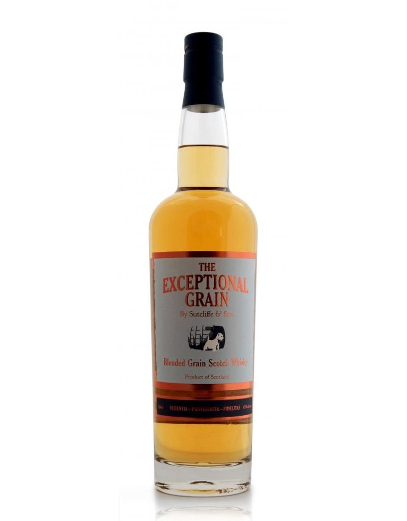"""Scotch Sutcliffe & Son """"The Exceptional Grain"""" Blended Grain Scotch Whisky"""