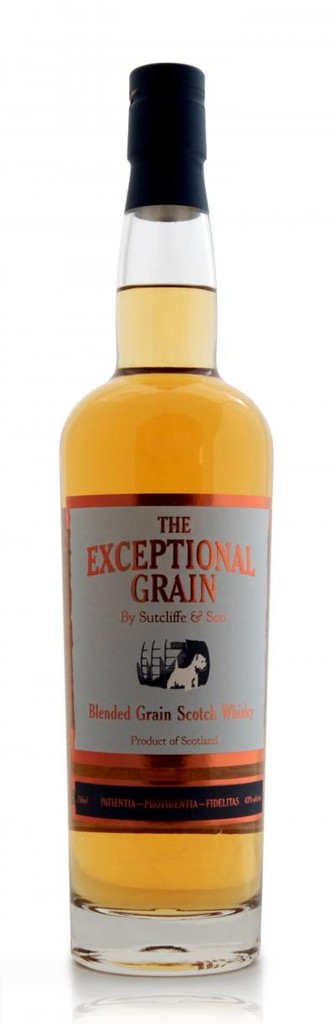 "Scotch Sutcliffe & Son ""The Exceptional Grain"" Blended Grain Scotch Whisky"