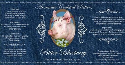 Bitter Sweetgrass Farm Bitter Blueberry 5oz