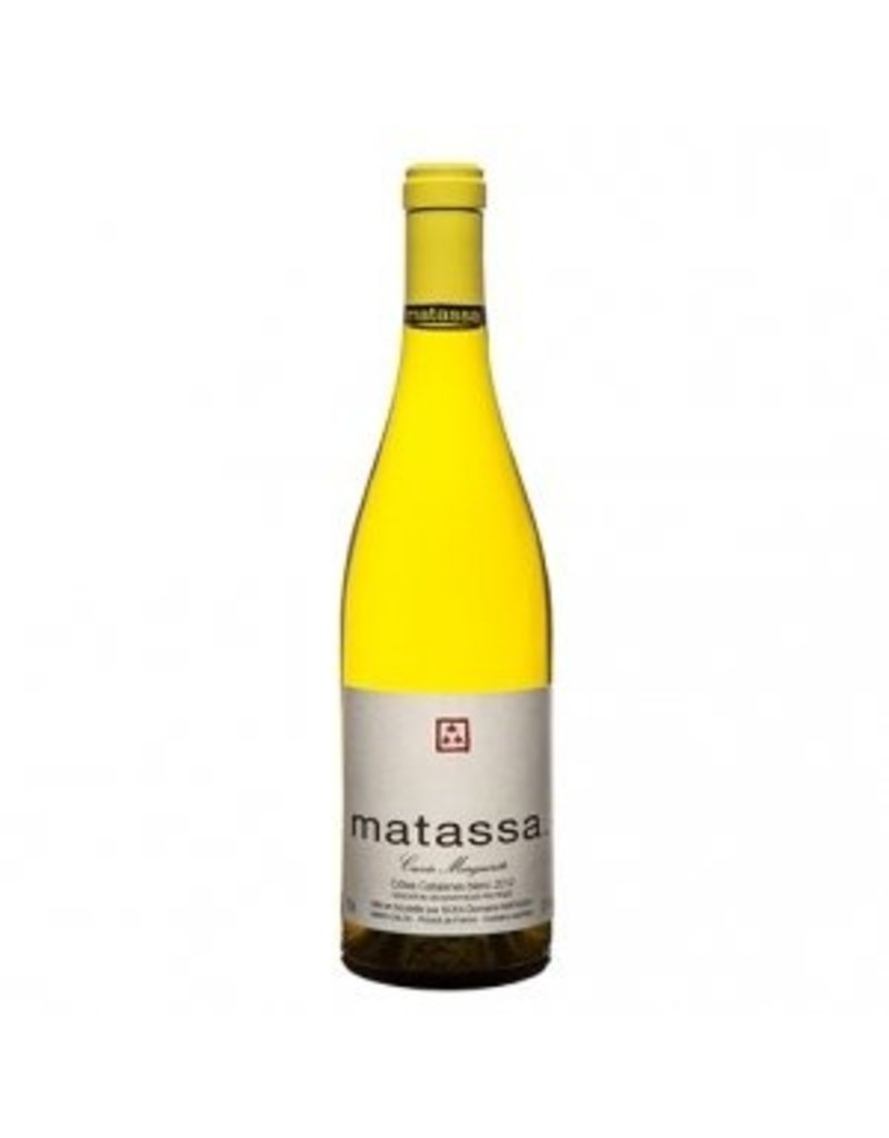 French Wine Matassa Cuvee Marguerite Vin de France Blanc 2014 750ml