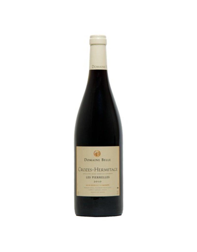 "French Wine Domaine Belle Crozes-Hermitage ""Les Pierrelles"" 2014 750ml"
