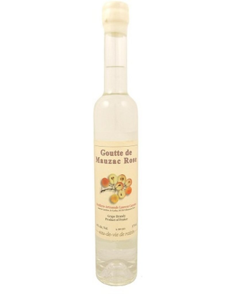 Brandy Laurent Cazottes Goutte de Mauzac Rose Grape Brandy 375ml
