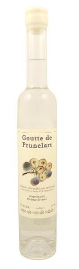Brandy Laurent Cazottes Goutte de Prunelart Grape Brandy 375ml