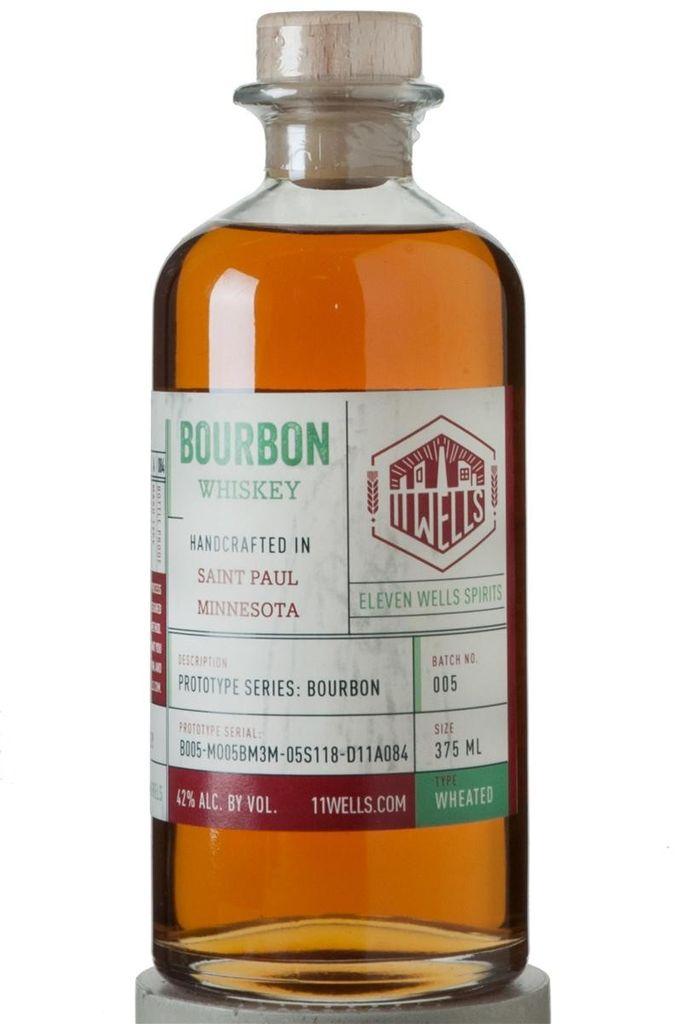Bourbon 11 Wells Prototype Series Bourbon 750ml