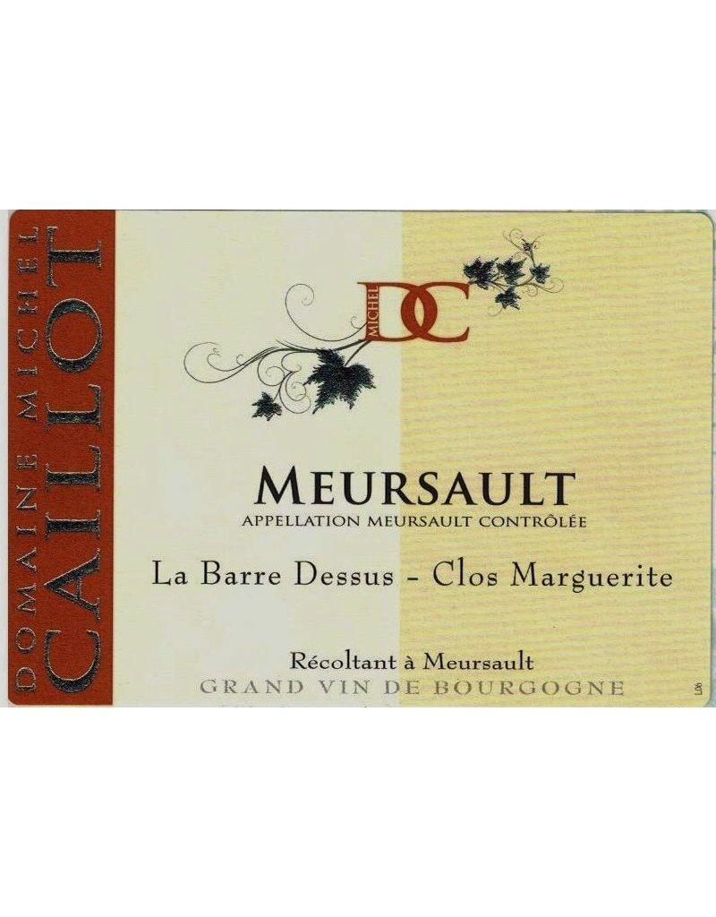 """French Wine Domaine Michel Caillot Mersault """"La Barre Dessus - Cos Marquerite"""" 2011 750ml"""