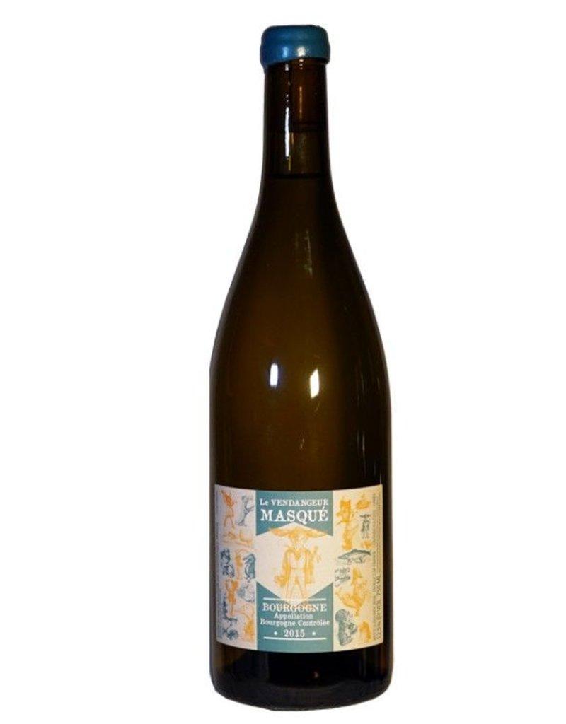 """French Wine De Moor """"Le Vendangeur Masqué"""" Bourgogne Blanc 2015 750ml"""
