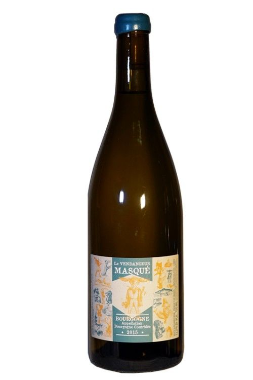 "French Wine De Moor ""Le Vendangeur Masqué"" Bourgogne Blanc 2015 750ml"
