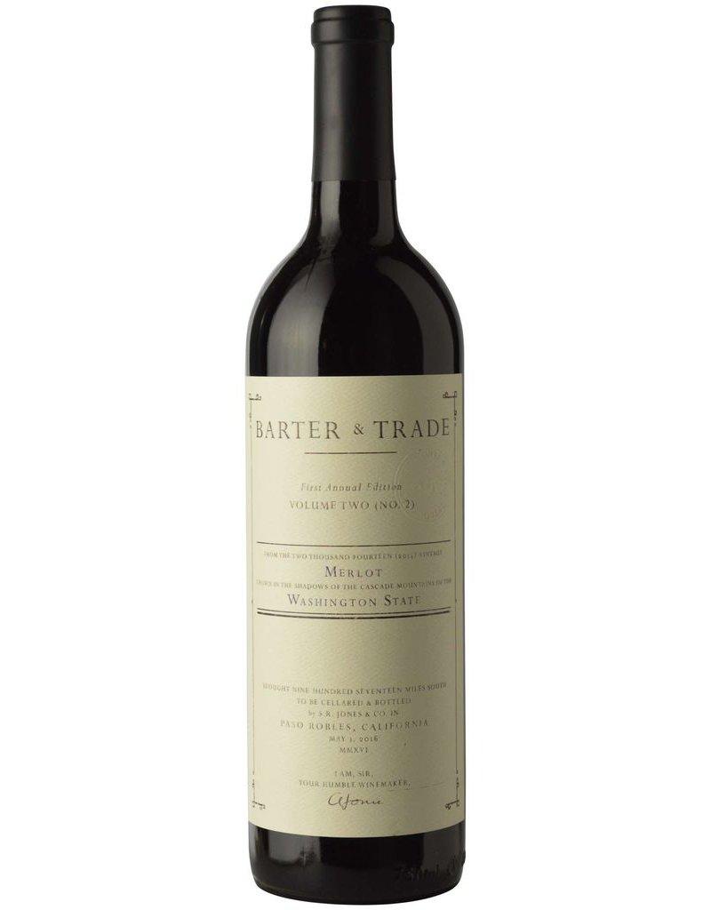 "American Wine Barter & Trade ""Volume Two"" Merlot Red Mountain Washington 2014 750ml"