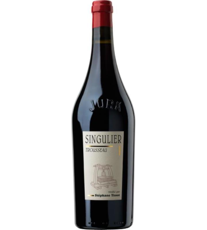 "French Wine Domaine Benedicte & Stephane Tissot Trousseau ""Singulier"" Arbois, Jura 2014 750ml"