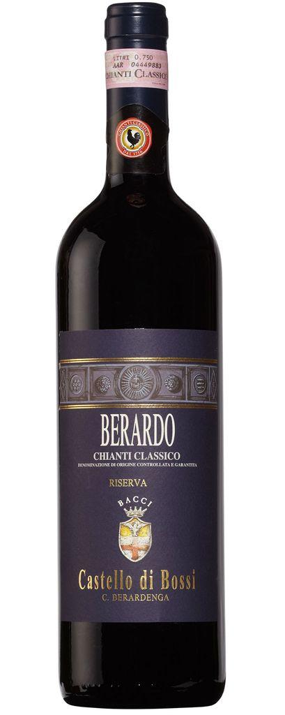 """Italian Wine Castello di Bossi """"Berardo"""" Chianti Classico Reserva 2011 750ml"""