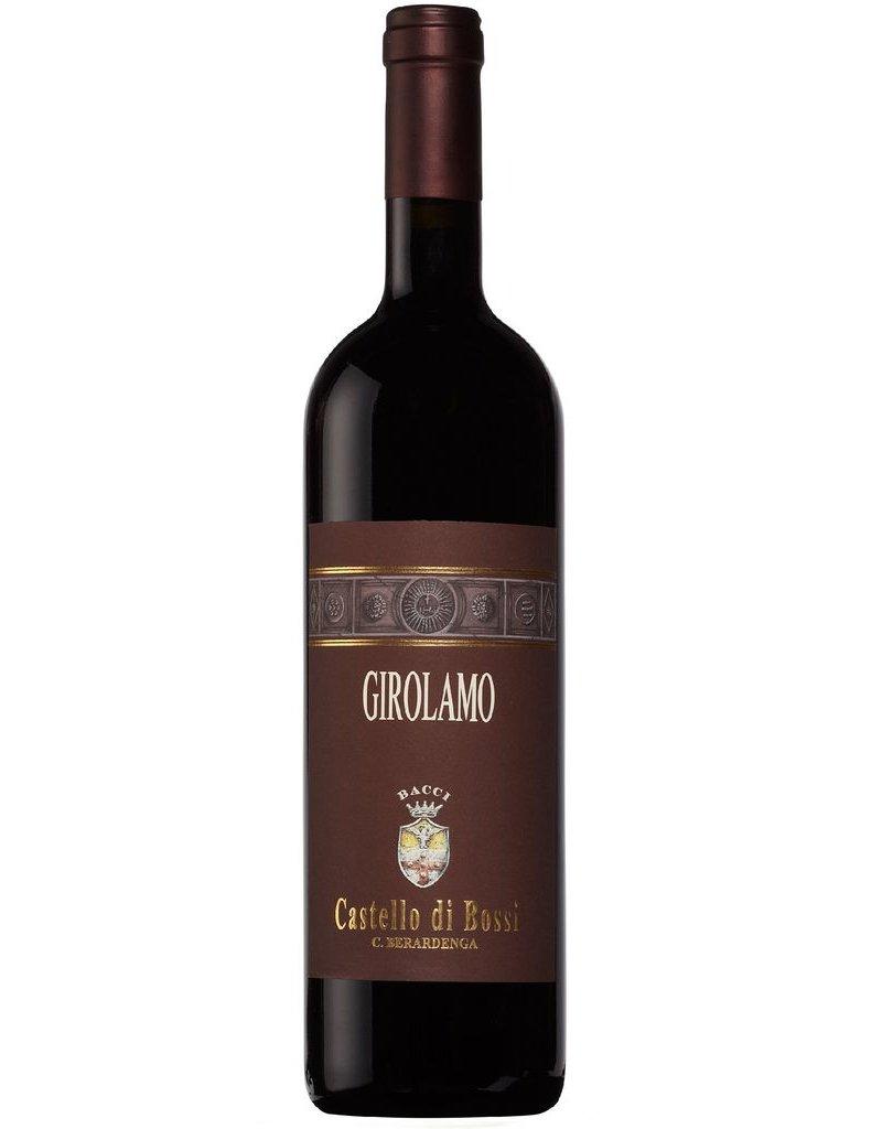 """Italian Wine Castello di Bossi """"Girolamo"""" Tuscana IGT 2011 750ml"""