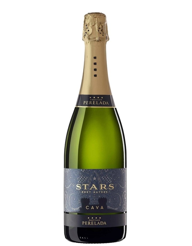 "Sparkling Wine Perelada ""Stars"" Brut Nature Cava 2014 750ml"