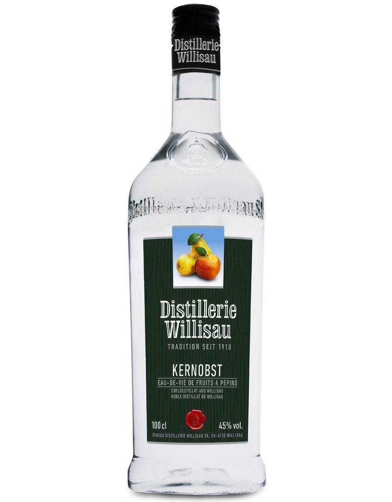 Brandy Willisauer Kernobst Eau-De-Vie Fruits a Pepins (Apple/Pear) Switzerland One Liter