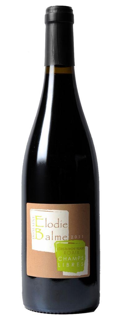 "French Wine Domaine Elodie Balme Roaix Cotes du Rhone ""Champs Libres"" 2013 750ml"