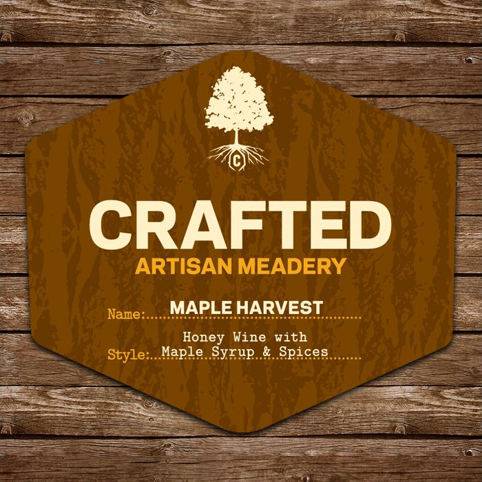 Mead Crafted Artisan Meadery Maple Harvest Mead 500ml