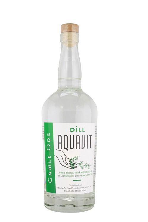 Aquavit Gamle Ode Dill Aquavit 750ml