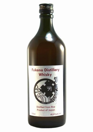 Asian Whiskey Fukano Distillery Whisky Japan 750ml