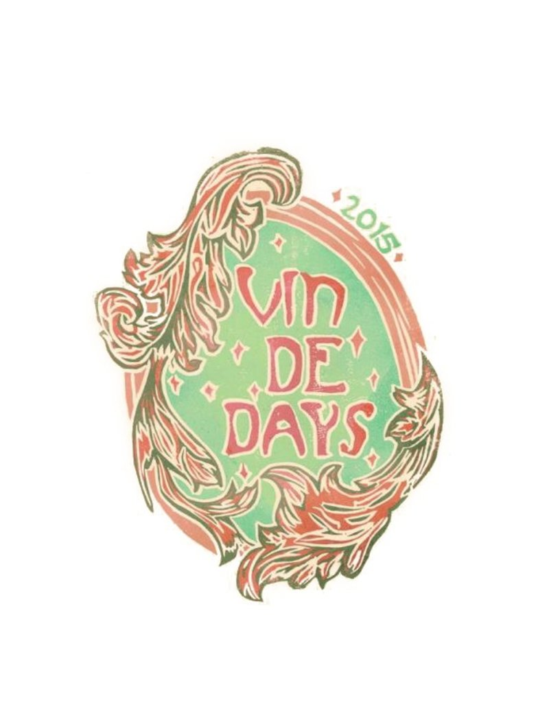 "American Wine Day Wines ""Vin de Days"" Blanc 2016 750ml"