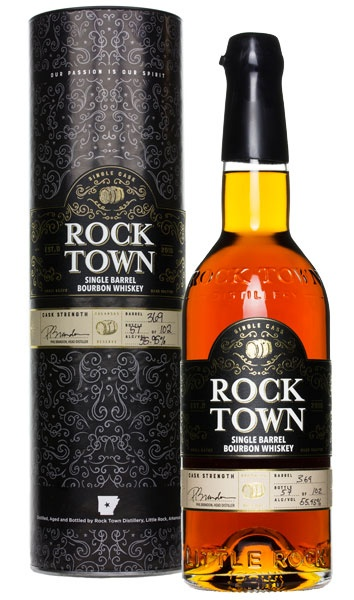Bourbon Rock Town Single Barrel Hand Selected by Independent Spirits, Inc. Barrel #374 57.3%abv 750ml 51 bottles produced