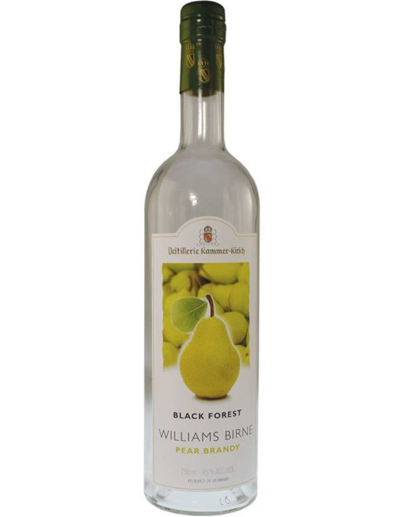 Brandy Kammer-Kirsch Black Forest Williams Birne Pear Brandy 40%abv 750ml