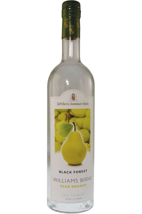 Brandy Kammer-Kirsch Black Forest Williams Birne Pear Brandy 40%abv 750ml