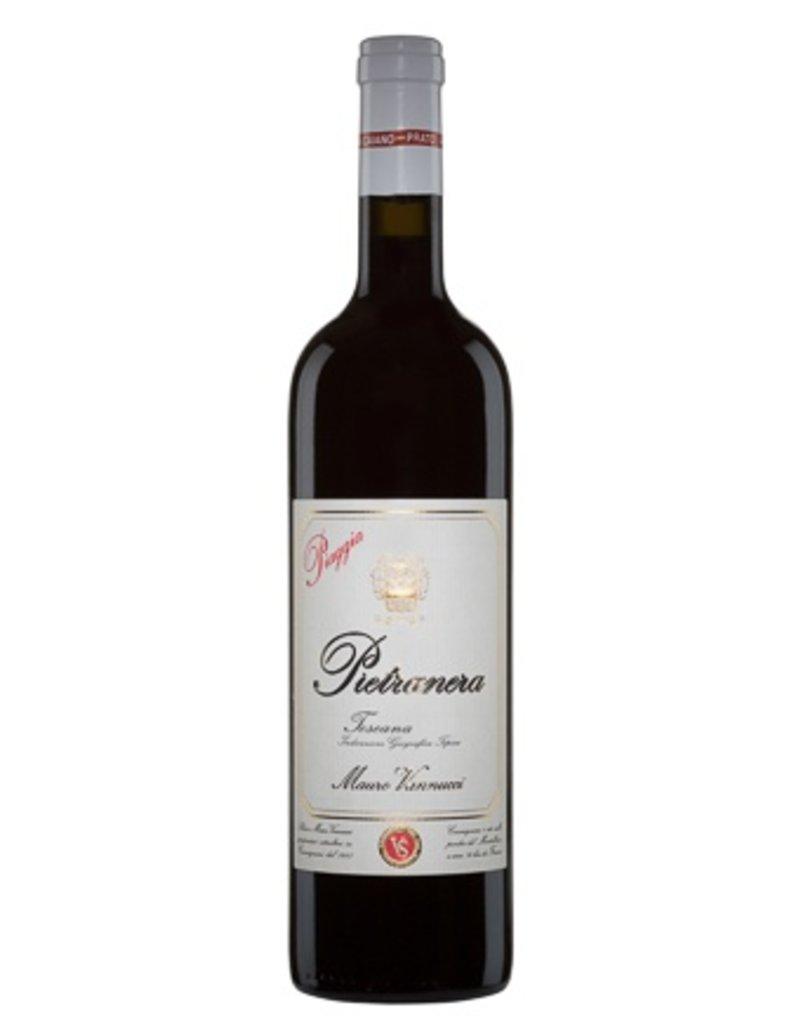 """Italian Wine Mauro Vannucci Piaggia """"Pietranera"""" Toscana Rosso 2015 750ml"""