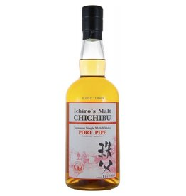 "Asian Whiskey Ichiro's Malt Chichibu ""Port Pipe"" Japanese Single Malt Whisky Single Cask #1367 62.4% abv 750ml"