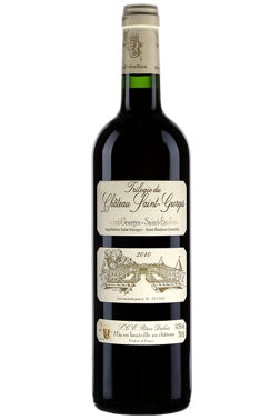 French Wine Trilogie du Chateau Saint-George Saint-George Saint-Emilion 2010 750ml
