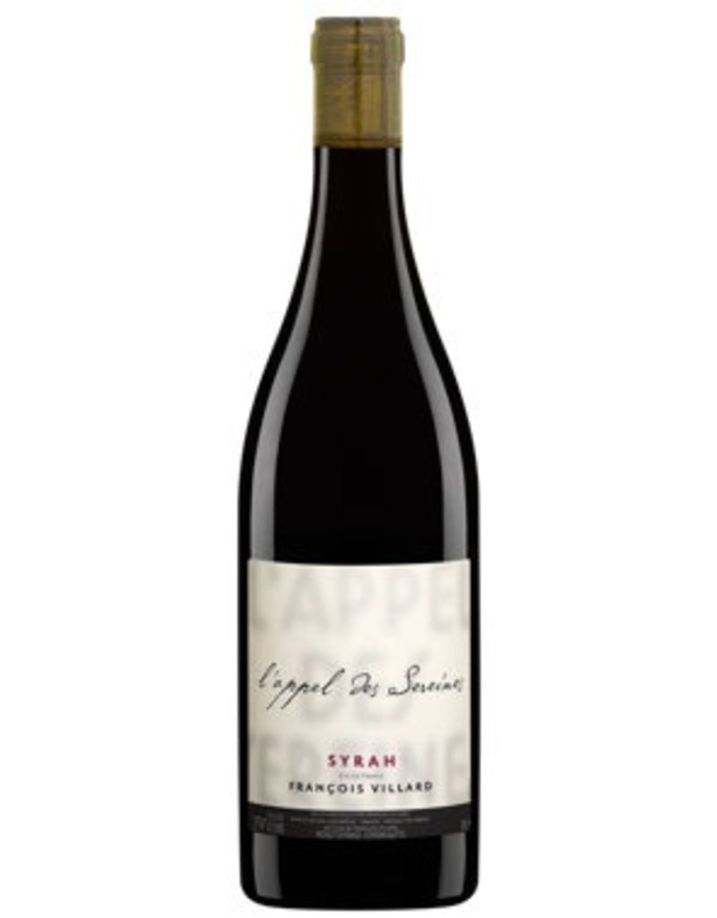 "French Wine Fracois Villard ""L'Appel des Sereines"" Syrah Vine de France 2014 750ml"