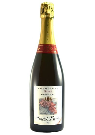 Sparkling Wine Henriet-Bazin Brut Rosé Champagne 750ml