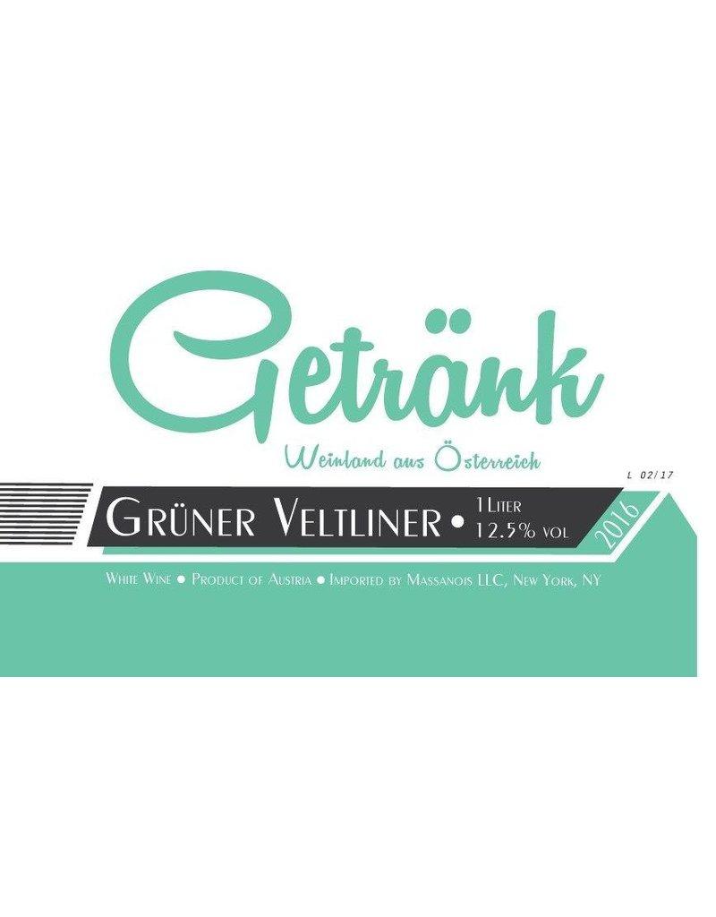 Austrian Wine Getrank Gruner Veltliner 2016 1L