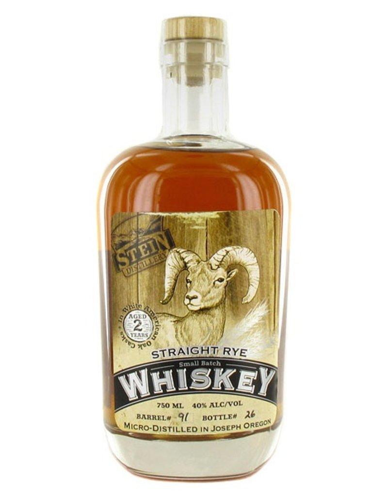 Rye Whiskey Stein Distillery Two Year Rye 750ml