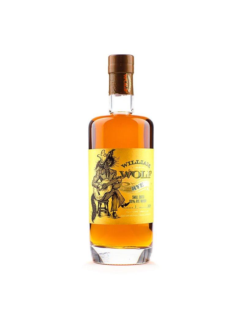 Rye Whiskey William Wolf Rye 750ml