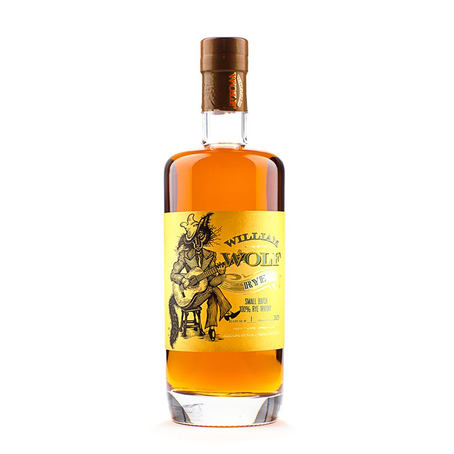 Rye Whiskey William Wolf Rye 750ml
