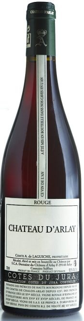 French Wine Chateau D'Arlay Cotes du Jura Rouge Pinot Noir 2011 750ml